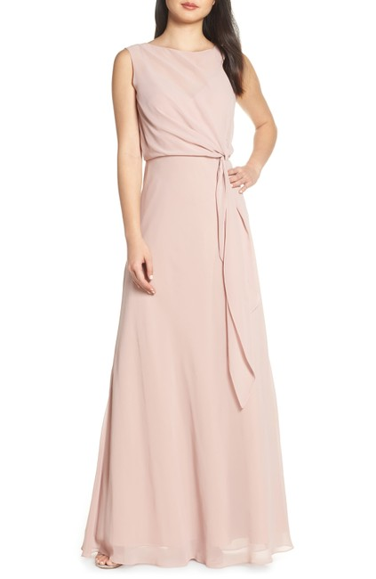 Preload https://img-static.tradesy.com/item/26059441/jenny-yoo-whipped-apricot-chiffon-overlay-evening-gown-long-formal-dress-size-0-xs-0-0-650-650.jpg