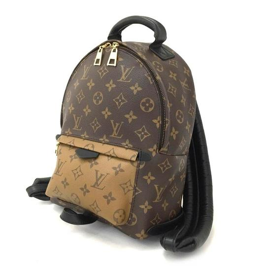 Louis Vuitton Leather Canvas Palm Springs Backpack Image 2