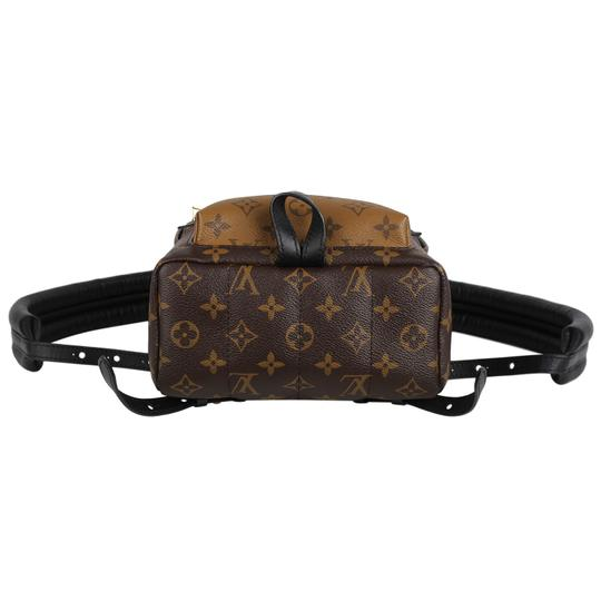 Louis Vuitton Leather Canvas Palm Springs Backpack Image 3