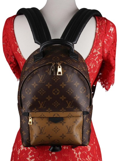 Louis Vuitton Leather Canvas Palm Springs Backpack Image 4