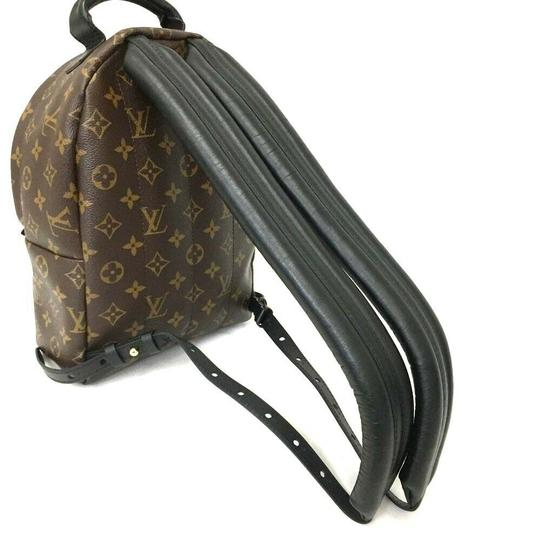 Louis Vuitton Leather Canvas Palm Springs Backpack Image 5