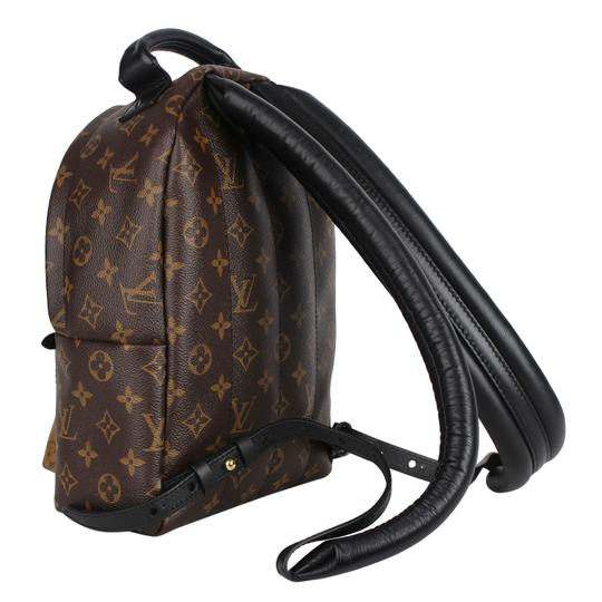 Louis Vuitton Leather Canvas Palm Springs Backpack Image 6