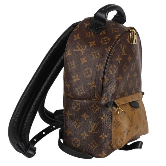 Louis Vuitton Leather Canvas Palm Springs Backpack Image 7
