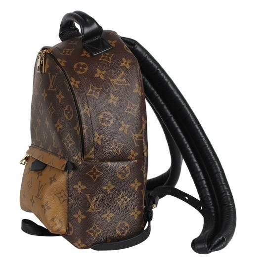 Louis Vuitton Leather Canvas Palm Springs Backpack Image 8