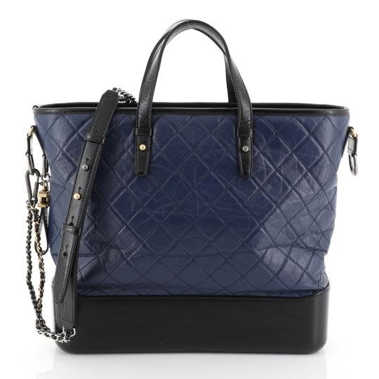 Preload https://img-static.tradesy.com/item/26059592/chanel-shopping-gabrielle-quilted-large-blue-calfskin-leather-tote-0-0-540-540.jpg