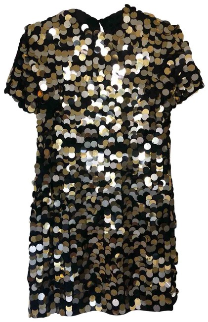 Preload https://img-static.tradesy.com/item/26059602/rachel-zoe-black-with-silver-and-gold-sequins-jersey-elsa-cotton-jersey-mini-short-night-out-dress-s-0-1-650-650.jpg