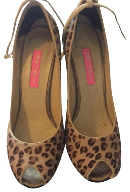 Item - Brown & Gold 24825028 Platforms Size US 6.5 Regular (M, B)
