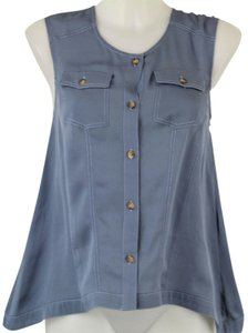 Thakoon Top Blue
