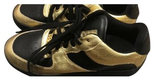 RED Valentino black and gold Athletic
