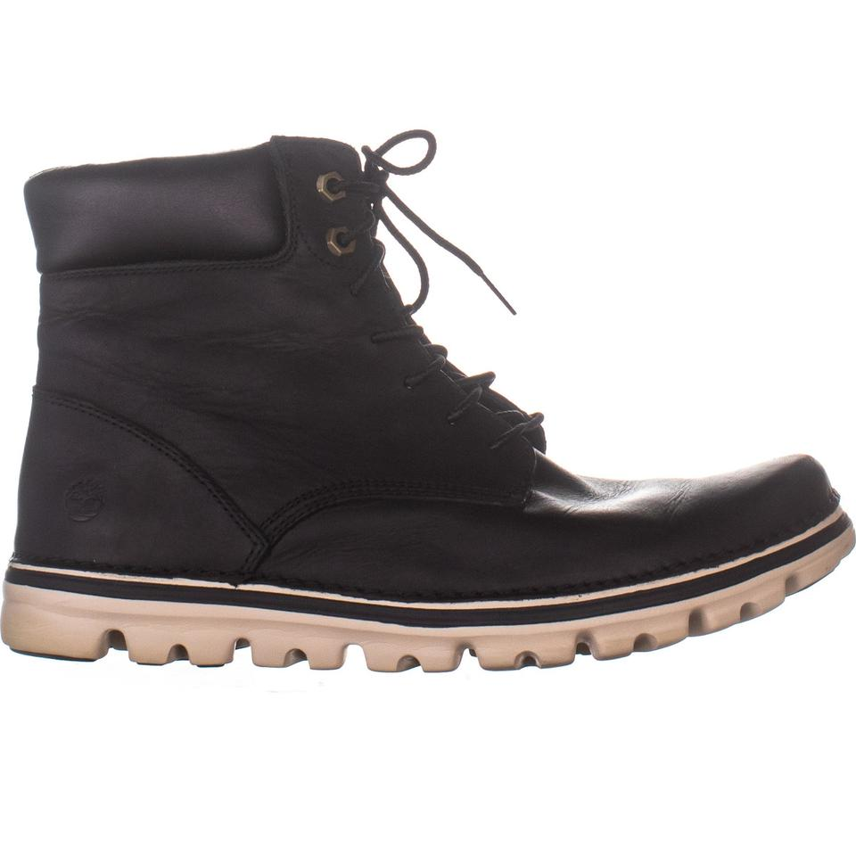 kod promocyjny sklep internetowy cienie Timberland Black 939 Lace Up Ankle 678 Boots/Booties Size US 10 Regular (M,  B) 62% off retail