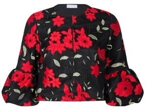 Anne Fontaine Black/Red Jacket