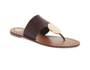 Tory Burch Malbec/gold Sandals
