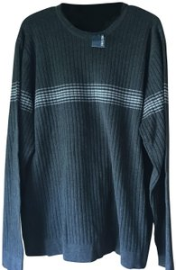 Express New With Tags Stripe Accent Men's Size Long Sleeves Banding Sweater