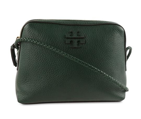 Preload https://img-static.tradesy.com/item/26061477/tory-burch-taylor-camera-green-leather-cross-body-bag-0-2-540-540.jpg