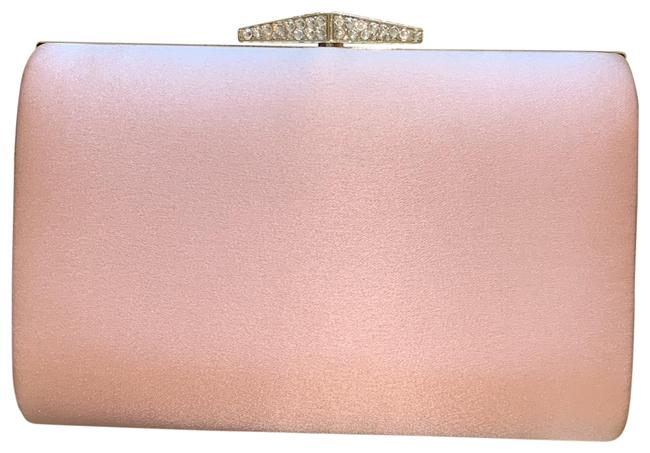 Item - Evening Pink Satin Clutch