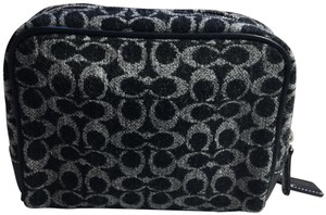 Coach Monogrammed cosmetic bag