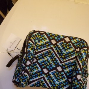Vera Bradley Green and Brown Travel Bag