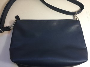 Steve Madden Faux Leather Shoulderbag Silver Cross Body Bag