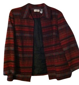Alfred Dunner Red multi Blazer
