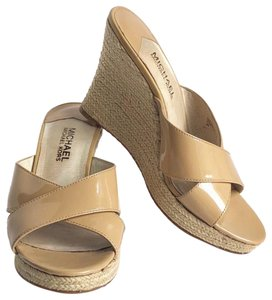 Michael Kors Beige Wedges