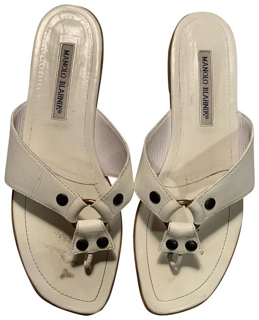 Item - White Sandals Size EU 39 (Approx. US 9)