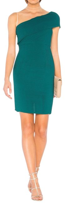 Item - Green Isis Toga Short Cocktail Dress Size 4 (S)