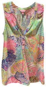 Lilly Pulitzer Top multi colored