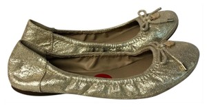 Vince Camuto gold Flats