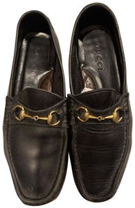 Gucci Black/brown Flats