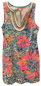 Lilly Pulitzer short dress seaside multi colored on Tradesy