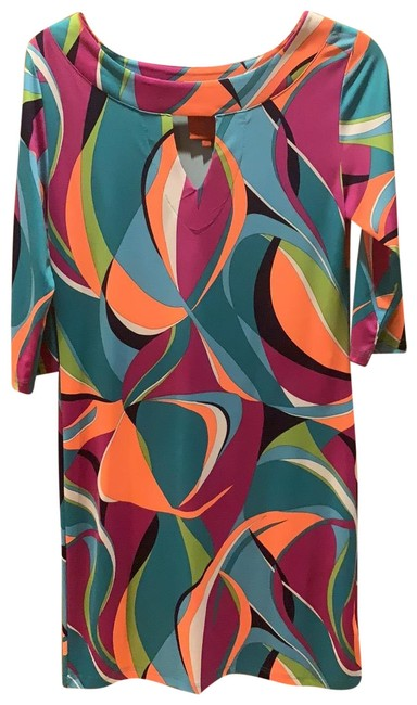 Item - Multi Colored Short Night Out Dress Size 2 (XS)