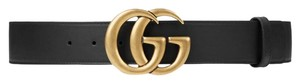 Gucci Brand New - Gucci GG Thick Leather Belt - Size 95