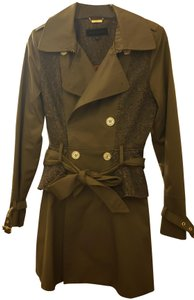 Steve Madden Buttons Pockets Stylish Warm Comfortable Trench Coat