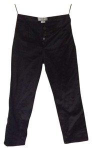 Yves Saint Laurent Vintage Straight Pants Black