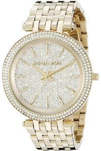 Michael Kors Darci Stainless Steel Pave Crystal Dial MK3438