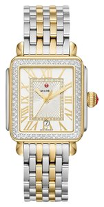 Michele Deco Madison Two Tone Stainless Diamond Dial MWW06T000144