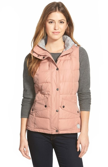 Item - Blush Landry Hooded Quilted Vest Size 4 (S)