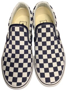 Vans Blue and Black Checkered Athletic