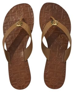 Tory Burch Royal Tan / Gold Sandals