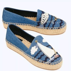 Tory Burch Denim Flats
