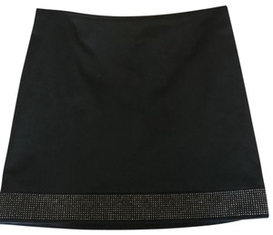 Burberry Mini Skirt black with gold details
