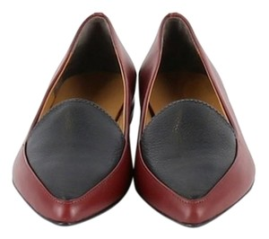Everlane Loafers Women's Leather Red and Black Boots