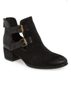 Isola Black Suede & Leather Boots