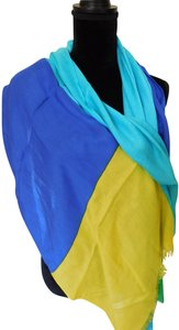 Kate Spade color-block scarf