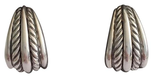 Item - Silver Cable Earrings