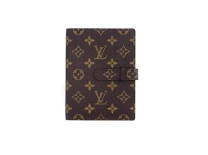Louis Vuitton Monogram Canvas Leather Notebook Planner Cover and