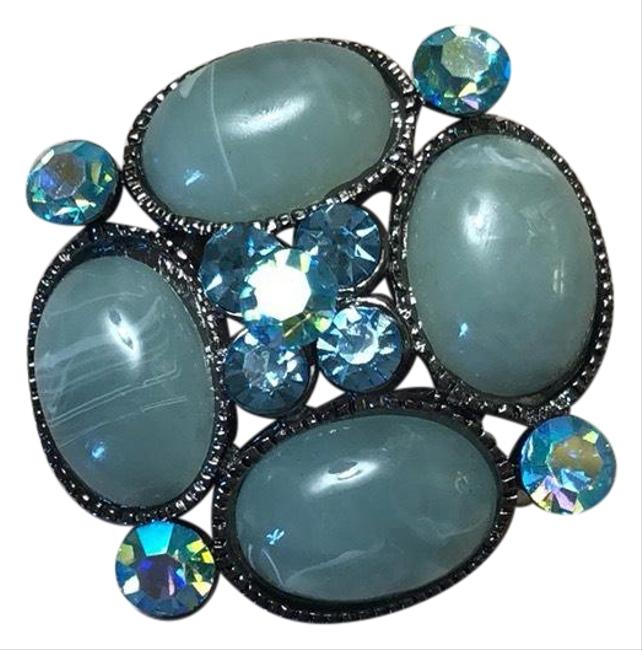 Item - Turquoise Blue Brooch