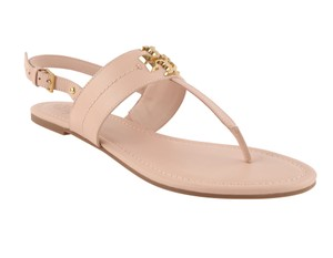 Tory Burch Everly T-strap Pink Sandals