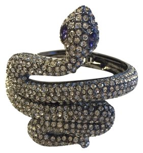 Betsey Johnson Betsy Johnson Black Label Snake wrap cuff