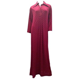 Red Maxi Dress by Dior Maxi Christian Vintage